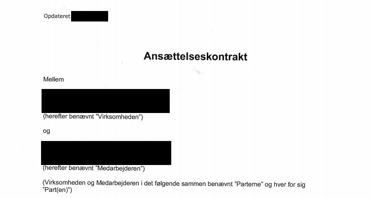 anonymiseret scannet kontrakt