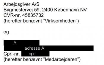 information anonymiseret med alias