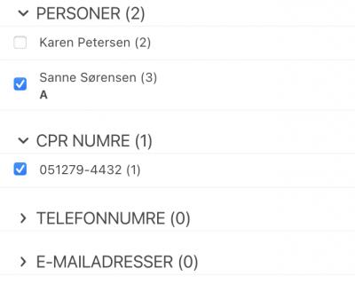 genkendt persondata